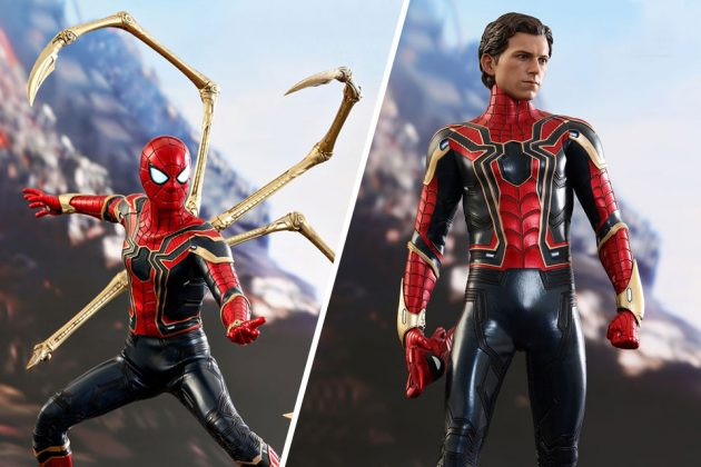 Hot Toys Infinity War Iron Spider 1/6th Scale Collectible Figure