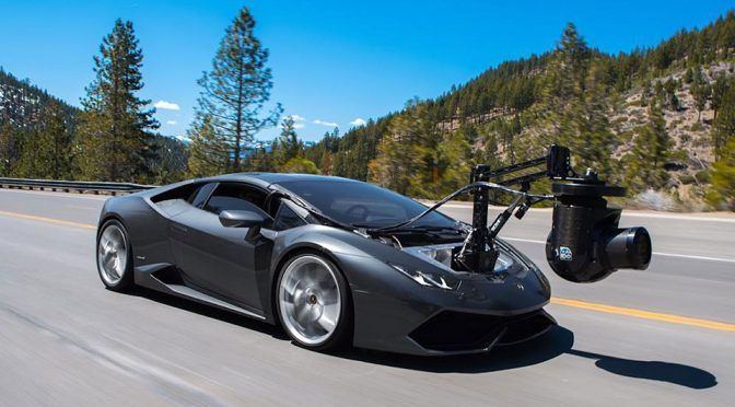 "Meet I.D.O. Lamborghini ""Huracam"", The World's Fastest Camera… Car"