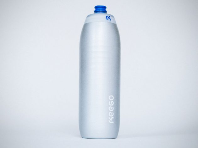Keego Squeezable Titanium Water Bottle