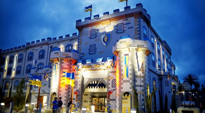 LEGOLAND Castle Hotel In California Opens For Business
