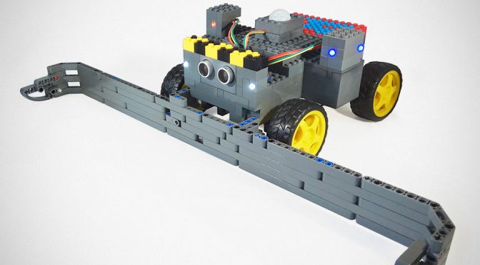 Leguino Arduino-enabled LEGO Bricks