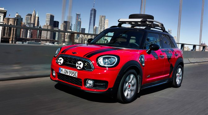Mini Countryman Plug-in Hybrid Set To Conquer World's Longest Road Link