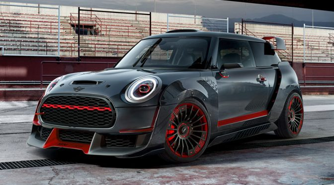 MINI JCW GP Concept Has So Many Things Going On On The Exterior