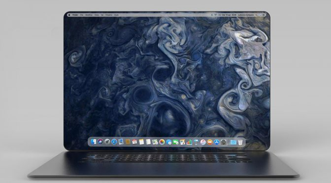 MacBook X Concept by Ludovico Campana