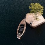 Copenhagen Harbor Is Home To A Beautiful Man-made Wooden Island