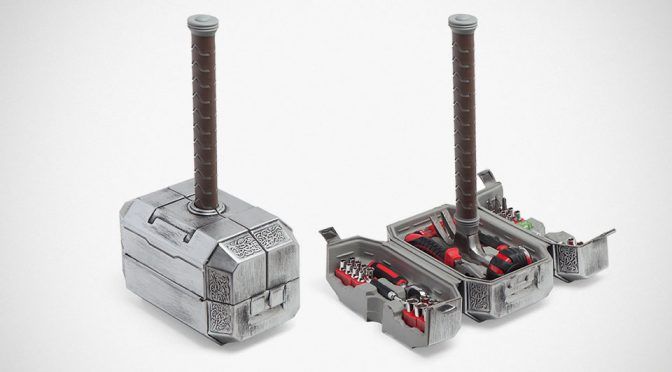Any Mortal Is Worthy To Wield This Marvel Thor Mjolnir Hammer Tool Set