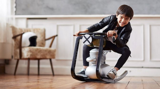 Finally, A Motorcycle Rocker For Kids, But You'll Probably NOT Buy It
