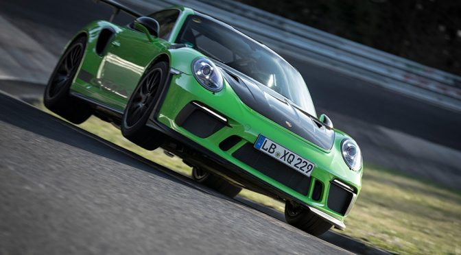Porsche 911 GT3 RS Tamed 'Green Hell' With 6:56.4 minutes Lap Time