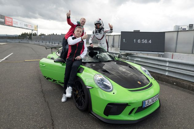 Porsche 911 GT3 RS Takes On Green Hell