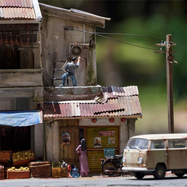 Realistic Diorama by Eddie Putera