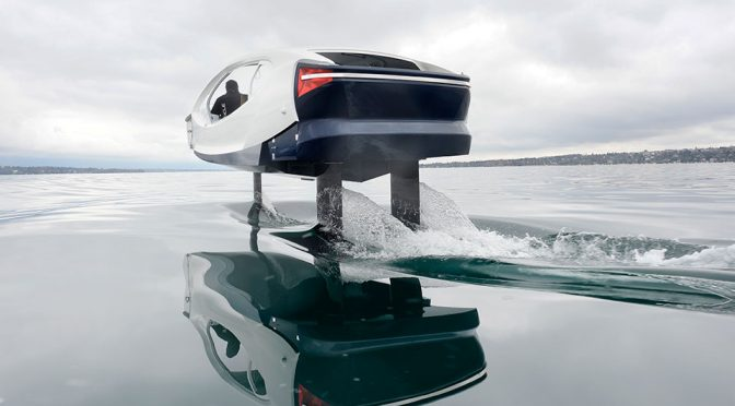 SeaBubbles Wants To Do For The Rivers What Uber Did For The Roads