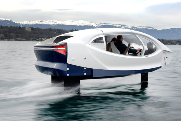 SeaBubbles Flying River Taxi