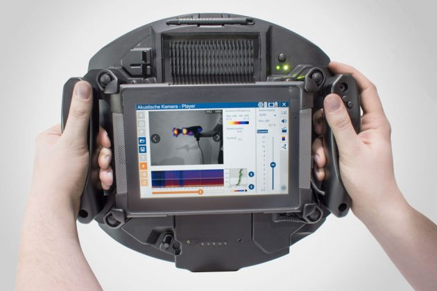 Soundcam Handheld Acoustic Camera