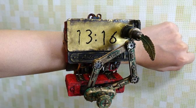 Steampunk Wrist Watches by FRISK_P