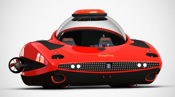 U-Boat Worx HiPer Submarine Looks Like A Supercar Submerged In Water