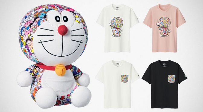 Uniqlo Teamed Up With Murakami And <em>Doraemon</em> For New Tee Collection