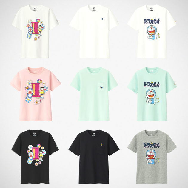 Uniqlo Doraemon x Murakami Collection