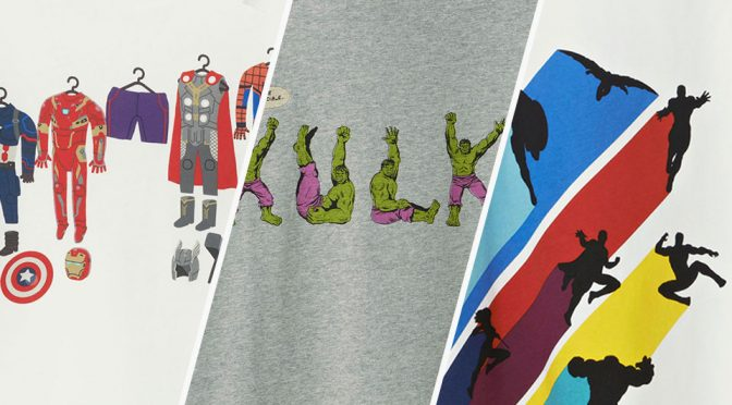 Winning Designs Become Upcoming Uniqlo Marvel Superheroes T-Shirts