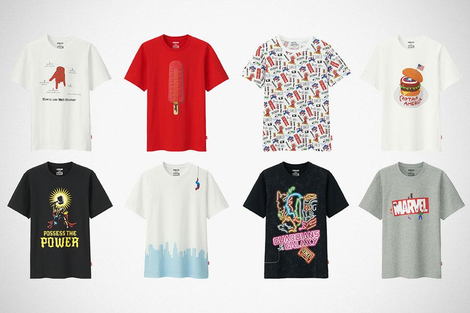 aca5cb07 Winning Designs Become Upcoming Uniqlo Marvel Superheroes T-Shirts ...
