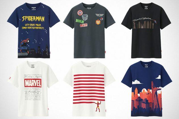 Uniqlo UTGP 2018 Marvel T-Shirts