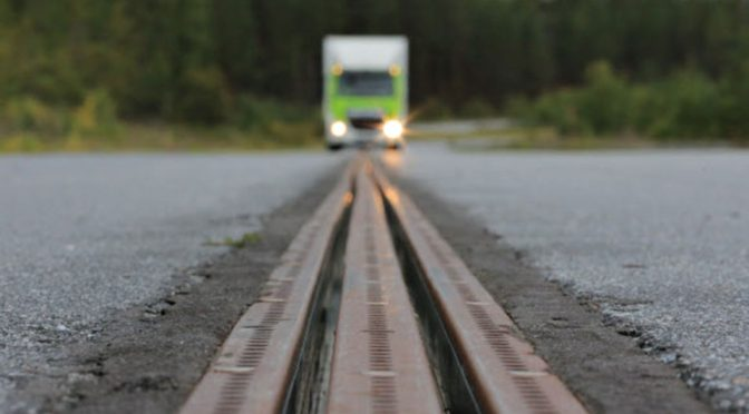 Sweden's Electrified Road Is Like A Life-size Scalextric