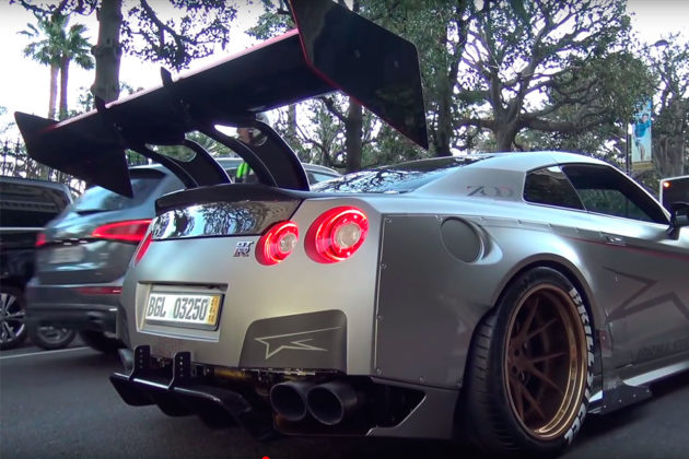 1850HP Nissan GT-R With Massive Rear Wing