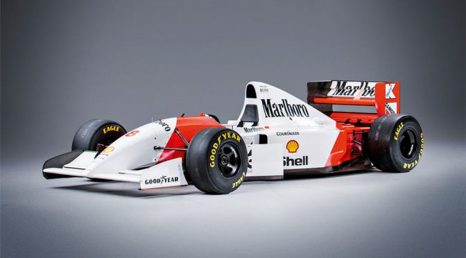 Ex-Ayrton Senna Record Setting Formula 1 Car To Be Auctioned Off