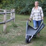 Tarp-based Wheelbarrow Is A Like A Giant Dustpan On Wheel