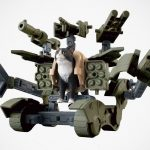 "Joke-Turn-Reality: Bandai ""Nekobusou"" Armed Cats Action Figures"