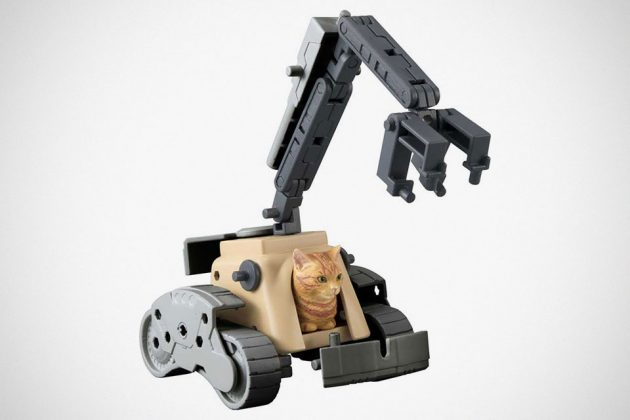 "Bandai ""Nekobusou"" Armed Cats Action Figures"