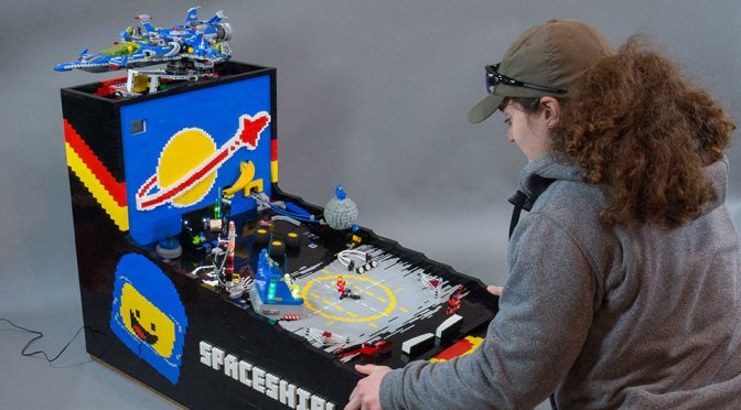 Benny's Spaceship Adventure LEGO Pinball Machine