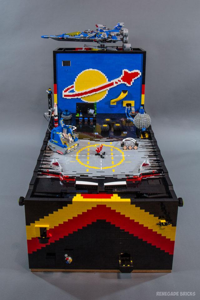 Benny's Spaceship Adventure LEGO Pinball Machine