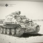 Artist Imagines War Machines If WWII Continued Through To The 50s