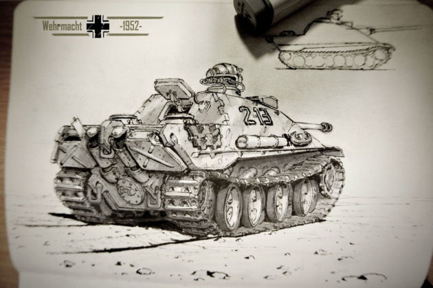 Beyond WWII War Machines by Michal Kus