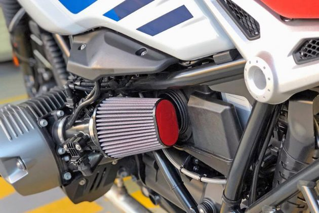 DNA Universal Leather Top Air Filter for Motorcycles