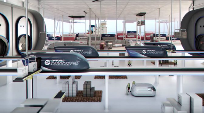 DP World Cargospeed Hyperloop-enabled Cargo Systems