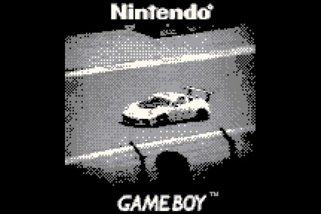 F1 Photos Captured With Nintendo Game Boy