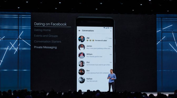 Facebook Dating Officially Announced