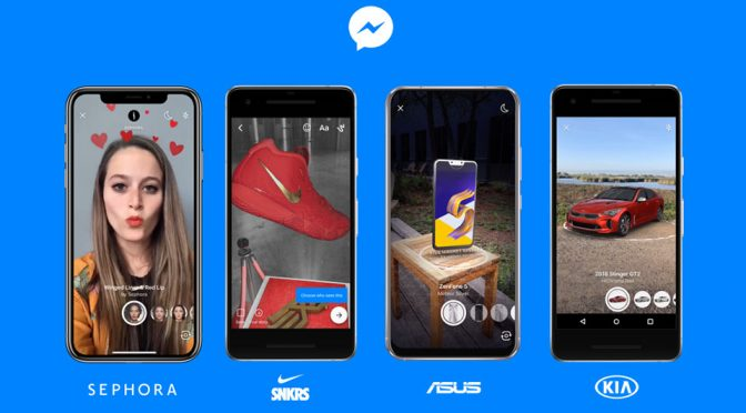 Facebook Messenger Augmented Reality