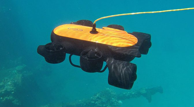 Geneinno 6-Thruster Underwater Imaging Drone Is Listed On Taobao