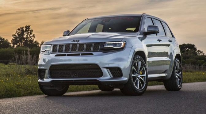 Hennessey Jeep Trackhawk Has 1,012HP, Wiped 1/4 Mile In 10.7s