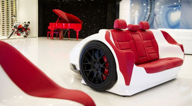 Design Epicentrum Lets You Chill Out In Your Living With A Lamborghini