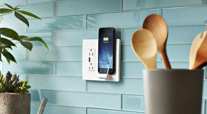 Legrand radiant Wireless Charger Wall Outlet