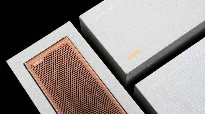 This Is klang mkI, Loewe's First Portable Bluetooth Speaker