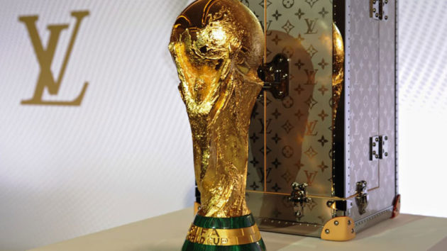 Louis Vuitton 2018 FIFA World Cup Trophy Case