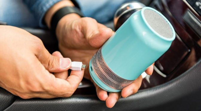 Nano-reactor Air Purifier Is Portable, Purifies Air Wherever You Go