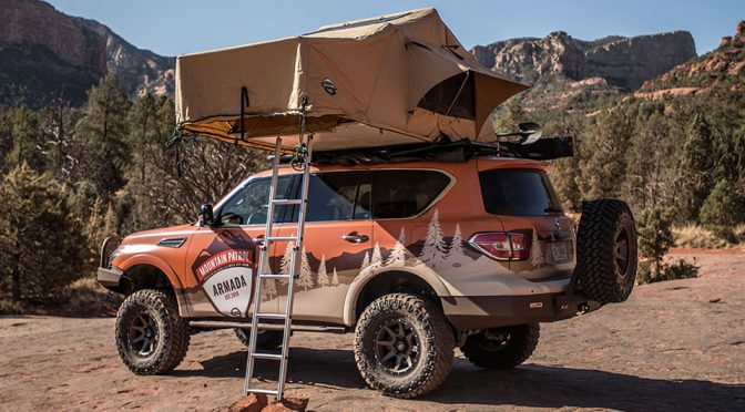"Nissan Armada ""Mountain Patrol"" Looks Better Than It Was On Visuals"