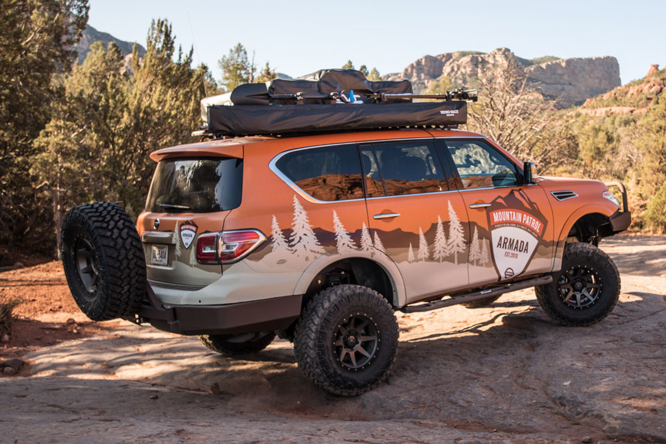 "Nissan Armada ""Mountain Patrol"" SUV Project Unveiled"
