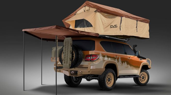 Nissan Wants You To Help To Design An Adventure-ready Nissan Armada
