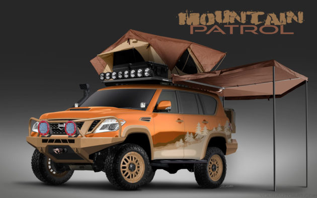 "Nissan Armada ""Mountain Patrol"" SUV Project"